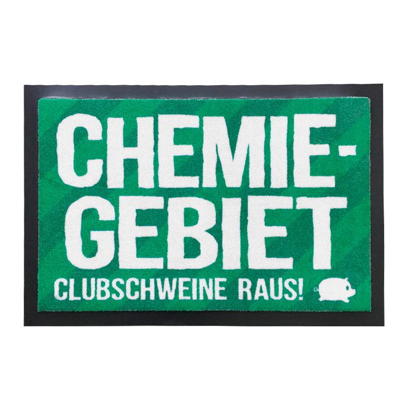 Fußmatte *Chemie – Gebiet*