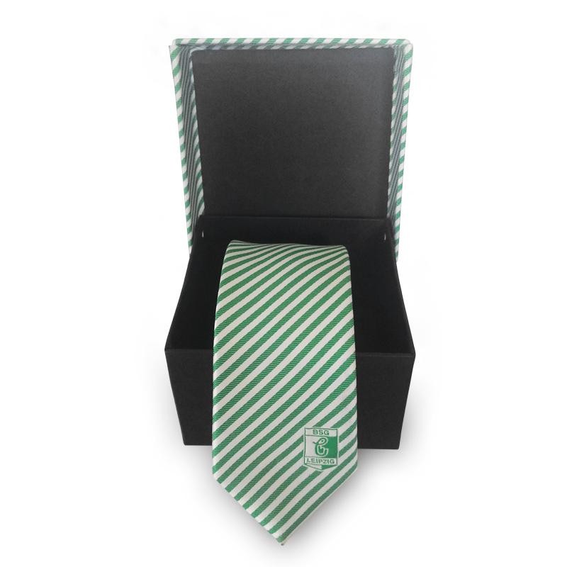 Krawatte *Grün/Weiß*